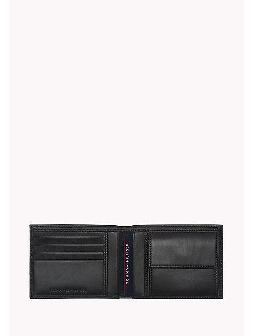 TOMMY HILFIGER Leather Wallet - BLACK - TOMMY HILFIGER Wallets & Keyrings - detail image 1