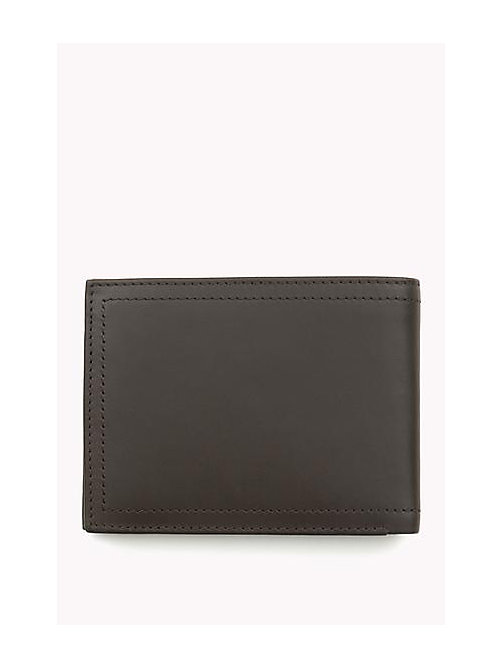 TOMMY HILFIGER Leather Wallet - COFFEE BEAN - TOMMY HILFIGER Wallets & Keyrings - detail image 1