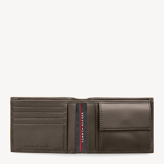 TOMMY HILFIGER Harry Leather Coin Pocket Cardholder - BLACK - TOMMY HILFIGER Men - detail image 2