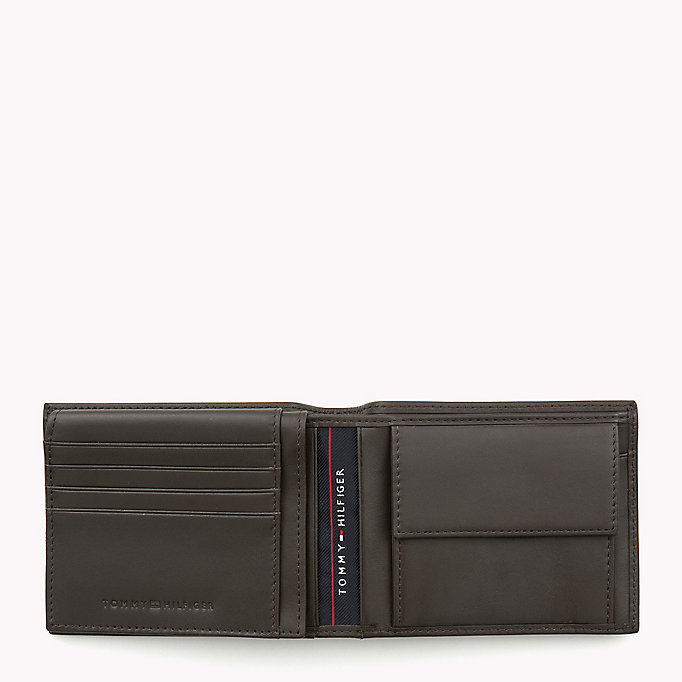 TOMMY HILFIGER Leather Wallet - BLACK - TOMMY HILFIGER Men - detail image 2