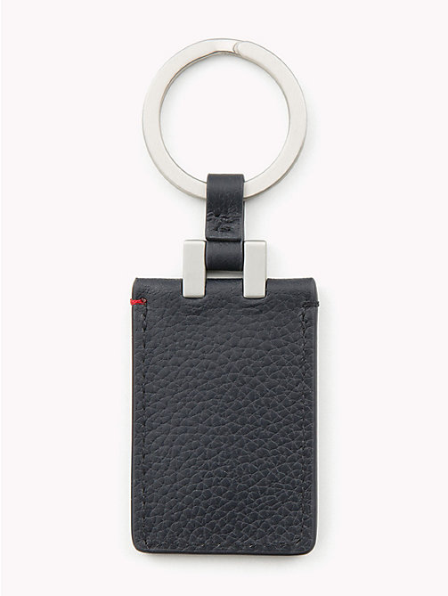 TOMMY HILFIGER Flag Leather Key Fob - CORPORATE - TOMMY HILFIGER Wallets & Keyrings - detail image 1