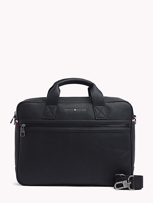 TOMMY HILFIGER Essential Laptop Bag - BLACK - TOMMY HILFIGER Laptop Bags - main image