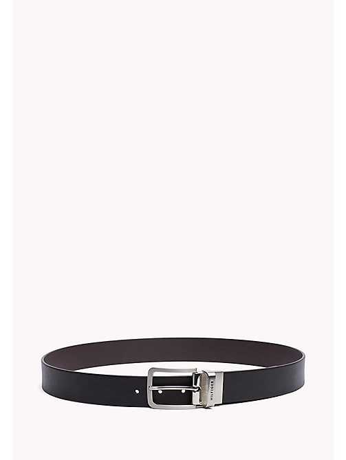 TOMMY HILFIGER Reversible Leather Belt - BLACK / TESTA DI MORO - TOMMY HILFIGER Bags & Accessories - main image
