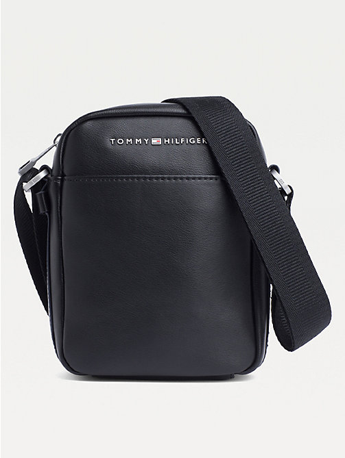 TOMMY HILFIGER TH City Small Reporter Bag - BLACK - TOMMY HILFIGER Crossbody Bags - main image