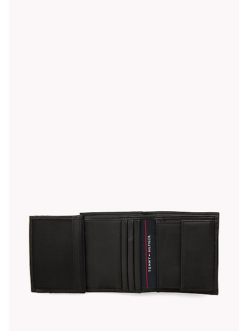 TOMMY HILFIGER HARRY N/S TRIFOLD - BLACK - TOMMY HILFIGER Wallets & Keyrings - detail image 1