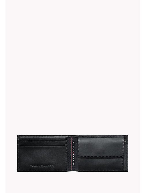 TOMMY HILFIGER HARRY MINI CC COIN POCKET WALLET - BLACK - TOMMY HILFIGER Wallets & Keyrings - detail image 1