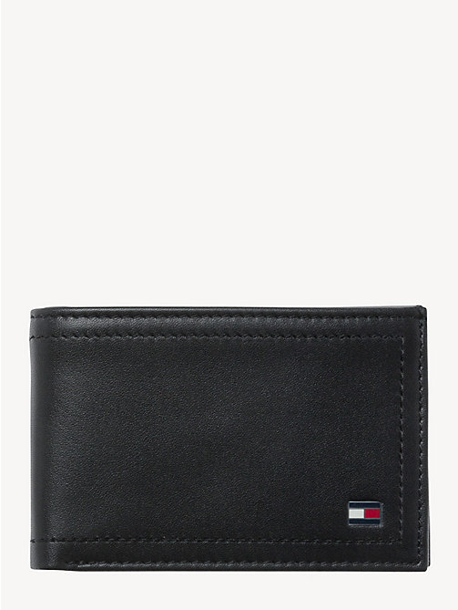 TOMMY HILFIGER HARRY MINI CC COIN POCKET WALLET - BLACK - TOMMY HILFIGER Wallets & Keyrings - main image
