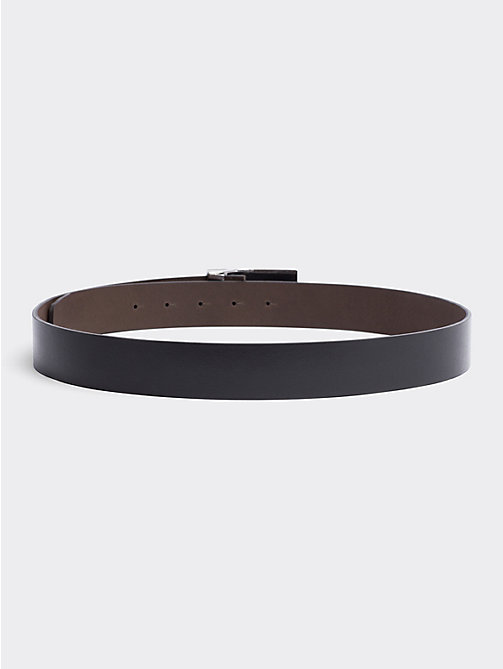 TOMMY HILFIGER Two Buckle Belt Gift Box - BLACK/ TESTA DI MORO - TOMMY HILFIGER Father's day - detail image 1