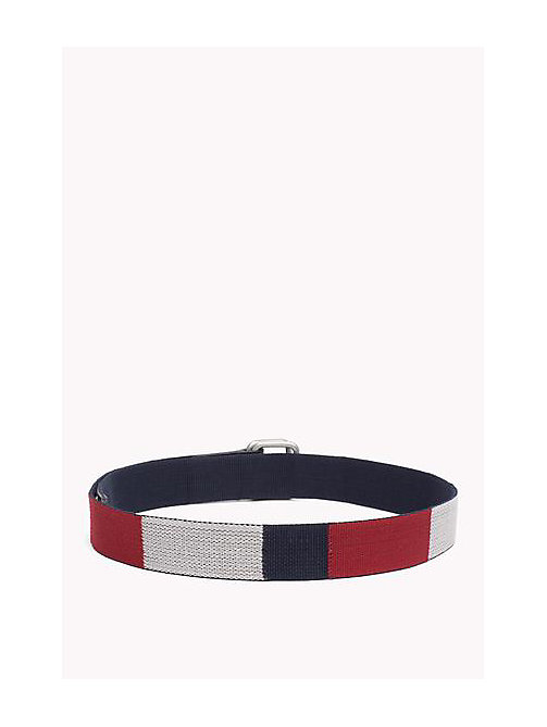 TOMMY JEANS Block Webbing Canvas Belt - RWB - TOMMY JEANS Bags & Accessories - detail image 1