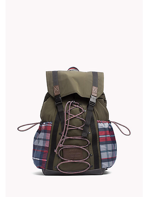 TOMMY HILFIGER Hiking Backpack - GRAPE LEAF - TOMMY HILFIGER Bags & Accessories - main image