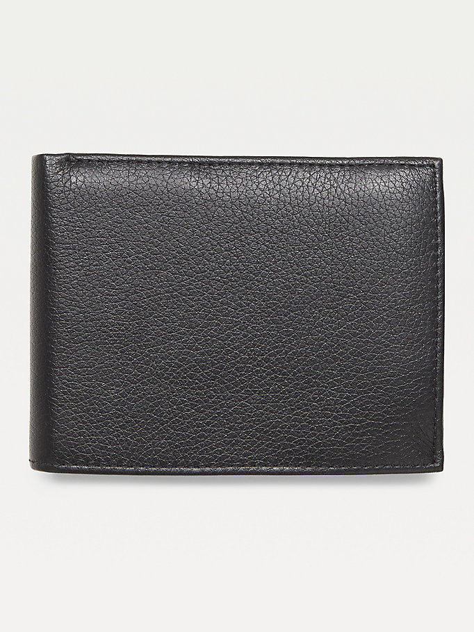TOMMY HILFIGER Texture Leather Wallet - TESTA DI MORO - TOMMY HILFIGER Men - detail image 1
