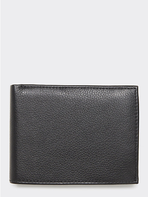 TOMMY HILFIGER Texture Leather Wallet - BLACK - TOMMY HILFIGER Portemonnees & sleutelhangers - detail image 1