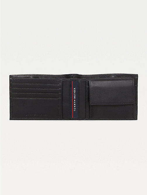 TOMMY HILFIGER Texture Leather Wallet - BLACK - TOMMY HILFIGER Wallets & Keyrings - detail image 1