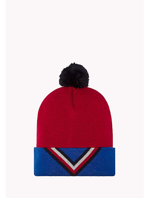 TOMMY JEANS Chevron Beanie - CORPORATE CLRS - TOMMY JEANS Bags & Accessories - main image