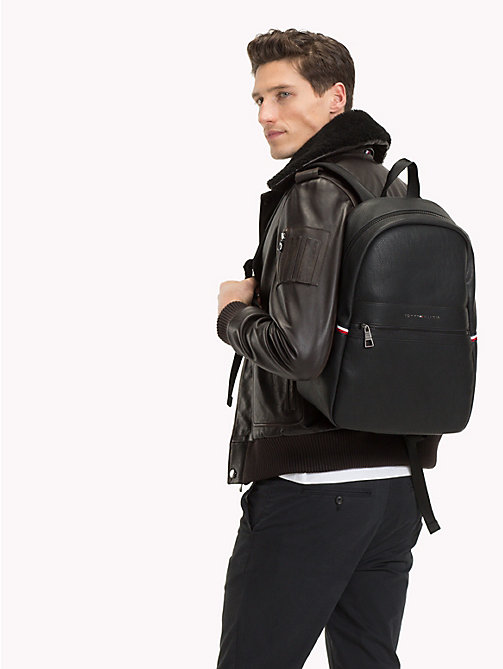 TOMMY HILFIGER Minimalist Essential Backpack - BLACK - TOMMY HILFIGER Bags & Accessories - detail image 1