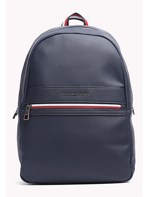 TOMMY HILFIGER Signature Laptop Backpack - TOMMY NAVY - TOMMY HILFIGER Bags - main image