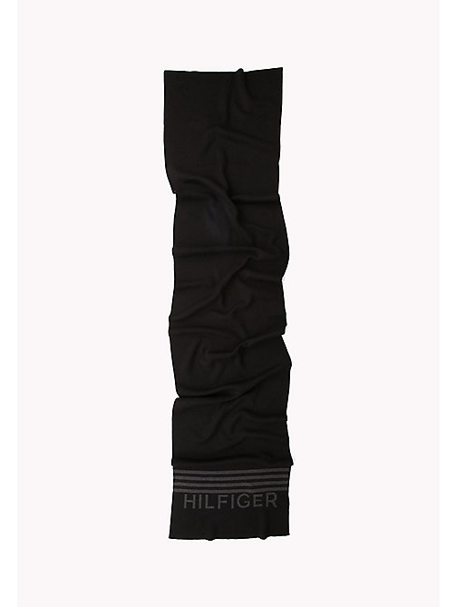 TOMMY JEANS Hilfiger Scarf - BLACK - TOMMY JEANS Bags & Accessories - detail image 1