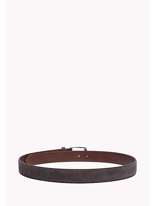 TOMMY HILFIGER Leather Belt - DARK GREY - TOMMY HILFIGER Belts - detail image 1
