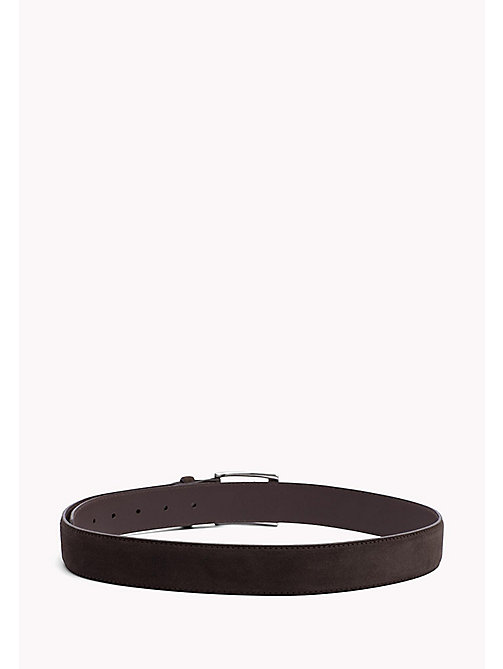 TOMMY HILFIGER Leather Belt - TESTA DI MORO -  Belts - detail image 1