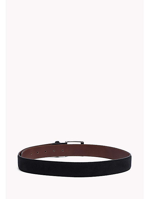 TOMMY HILFIGER Leather Belt - TOMMY NAVY -  Belts - detail image 1
