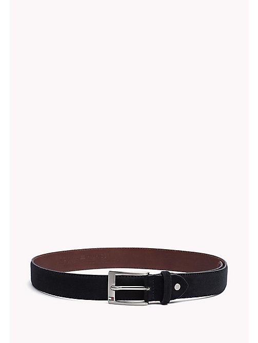 TOMMY HILFIGER Leather Belt - TOMMY NAVY -  Belts - main image