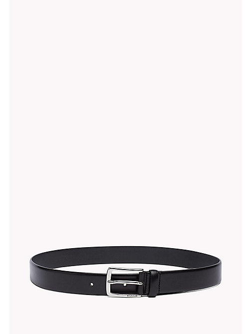 TOMMY HILFIGER Leather Belt - BLACK - TOMMY HILFIGER Bags & Accessories - main image