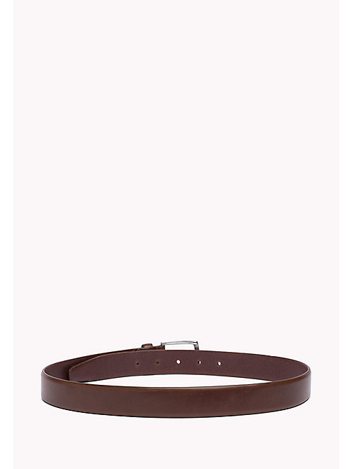 TOMMY HILFIGER Leather Belt - TESTA DI MORO - TOMMY HILFIGER Bags & Accessories - detail image 1