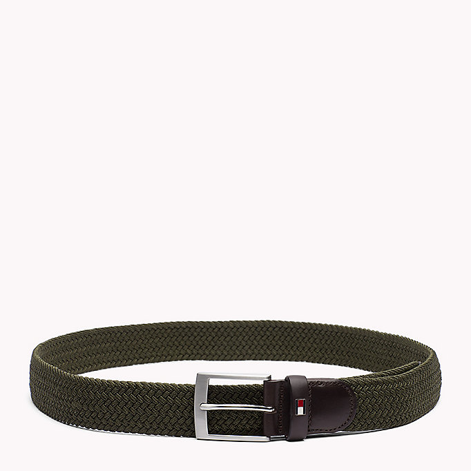 TOMMY HILFIGER Braided Belt - SKY CAPTAIN - TOMMY HILFIGER Men - main image