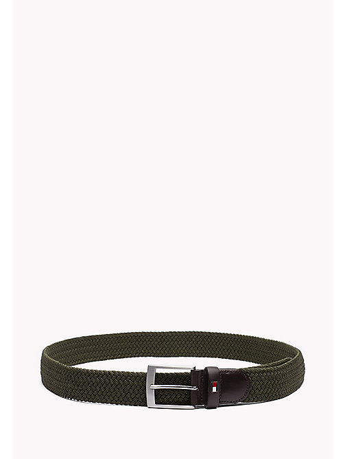TOMMY HILFIGER Braided Belt - GRAPE LEAF - TOMMY HILFIGER Belts - main image