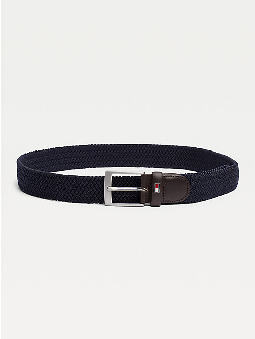 TOMMY HILFIGER Braided Belt - SKY CAPTAIN - TOMMY HILFIGER Belts - main image