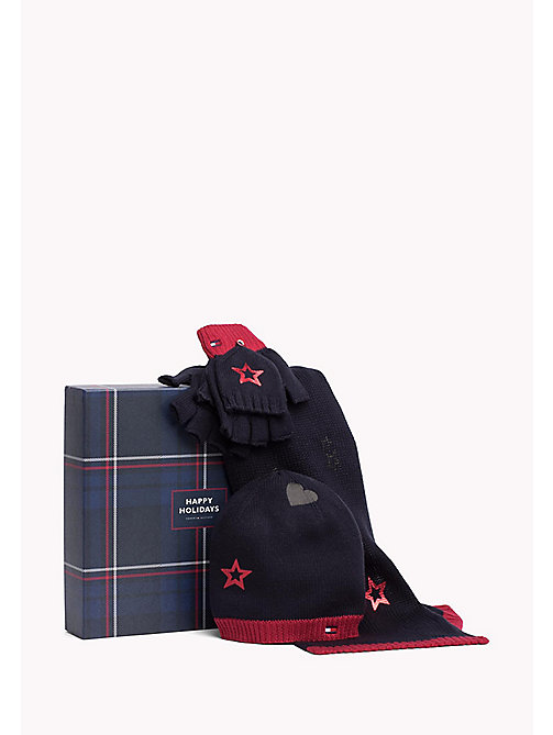 TOMMY HILFIGER Newborn Boy Accessories Gift Pack - TOMMY NAVY - TOMMY HILFIGER Boys - main image