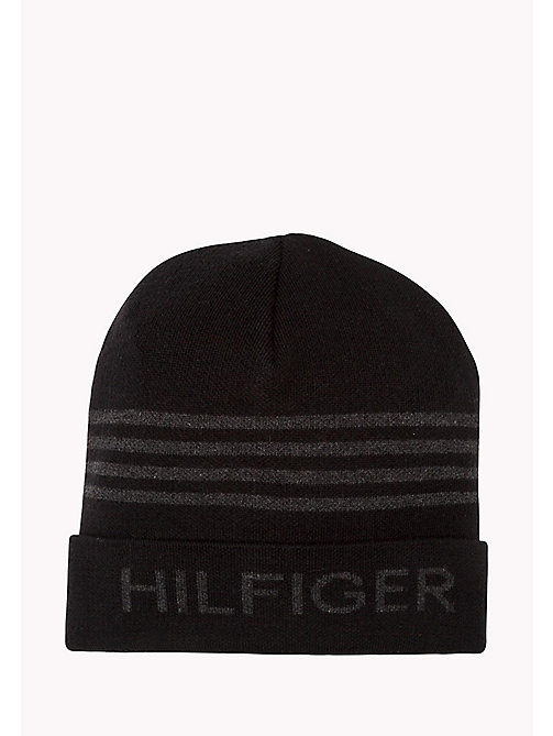 TOMMY JEANS Hilfiger Beanie - BLACK - TOMMY JEANS Herren - main image