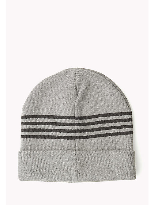 TOMMY JEANS Hilfiger Beanie - 039-LIGHT GREY HEATHER - TOMMY JEANS Bags & Accessories - detail image 1