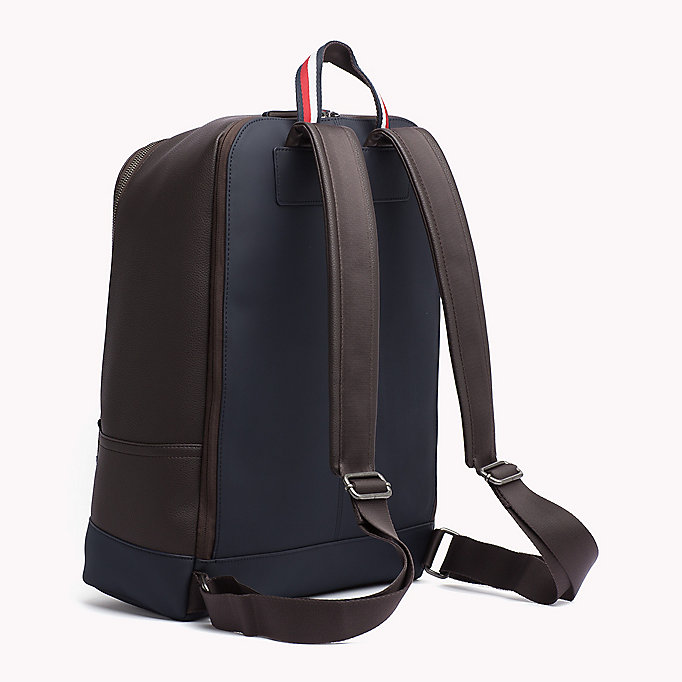 TOMMY HILFIGER Diagonal Backpack - BLACK - TOMMY HILFIGER Bags & Accessories - detail image 1