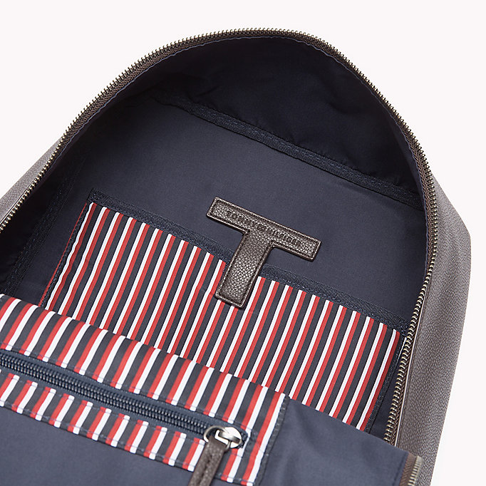 TOMMY HILFIGER Diagonal Backpack - BLACK - TOMMY HILFIGER Bags & Accessories - detail image 2