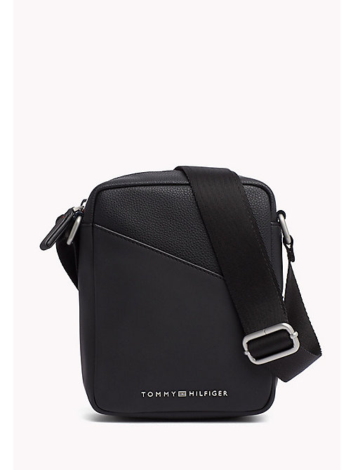 TOMMY HILFIGER Diagonal Mini Reporter Bag - BLACK - TOMMY HILFIGER TO BE DELETED Accessories - main image