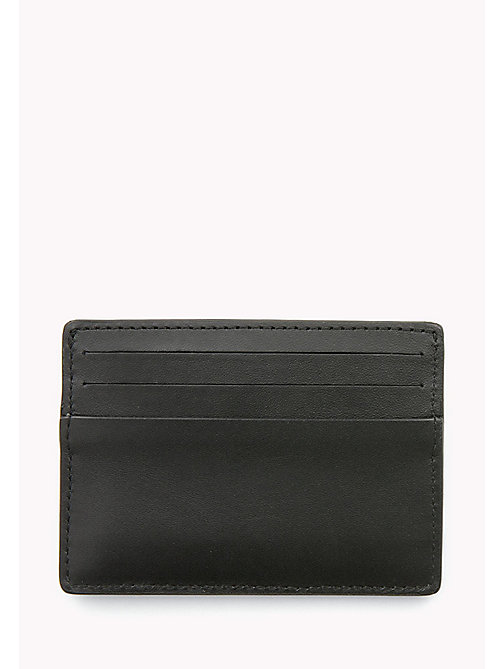 TOMMY HILFIGER Leather Cardholder - BLACK - TOMMY HILFIGER Bags & Accessories - detail image 1