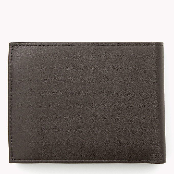 TOMMY HILFIGER Leather Wallet - BLACK - TOMMY HILFIGER Men - detail image 1