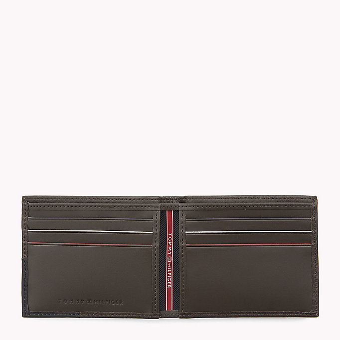 TOMMY HILFIGER Leather Mini Wallet - BLACK - TOMMY HILFIGER Men - detail image 2
