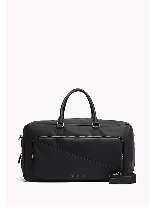 TOMMY HILFIGER Diagonal Duffle Bag - BLACK - TOMMY HILFIGER Accessories - main image