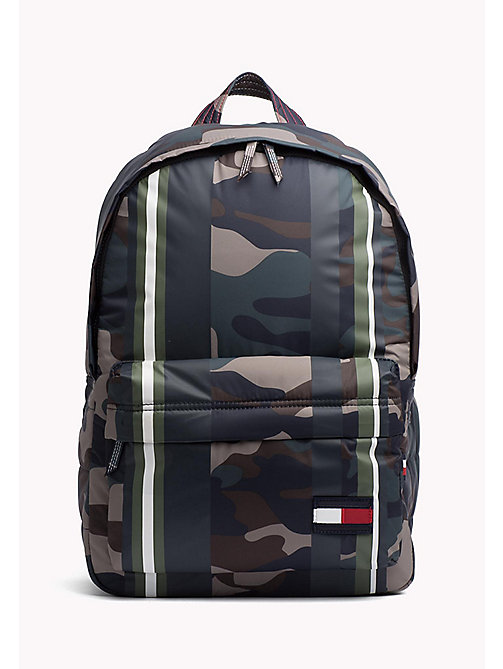 TOMMY HILFIGER Camo Backpack - CAMO STRIPE - TOMMY HILFIGER Bags - main image