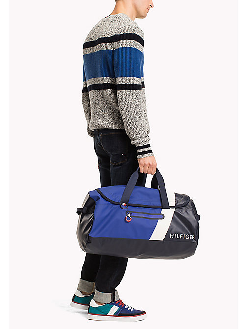 TOMMY HILFIGER Water Resistant Duffle Bag - TOMMY NAVY - TOMMY HILFIGER Bags - detail image 1