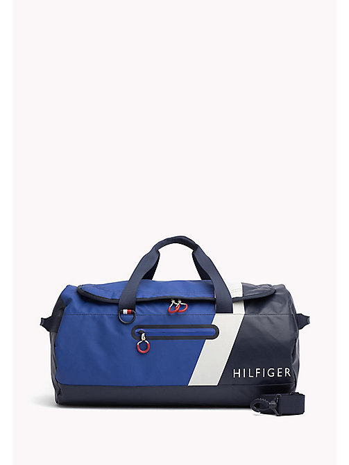 TOMMY HILFIGER Water Resistant Duffle Bag - TOMMY NAVY - TOMMY HILFIGER Bags - main image