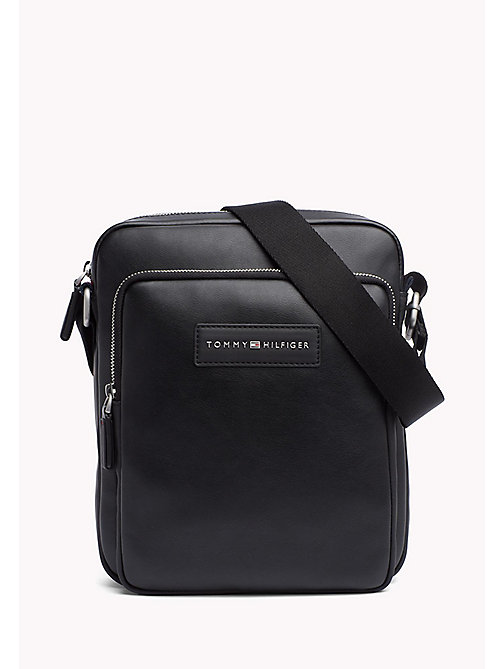 TOMMY HILFIGER City Reporter Bag - BLACK - TOMMY HILFIGER Crossbody Bags - main image