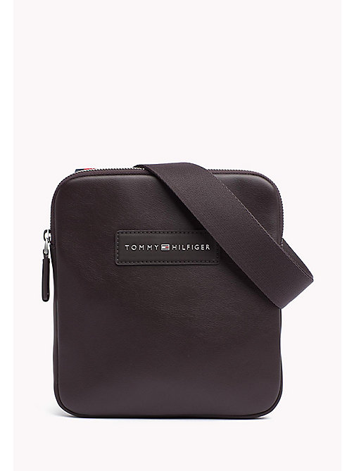 TOMMY HILFIGER Mini Crossover Bag - COFFEE BEAN - TOMMY HILFIGER Crossbody Bags - main image