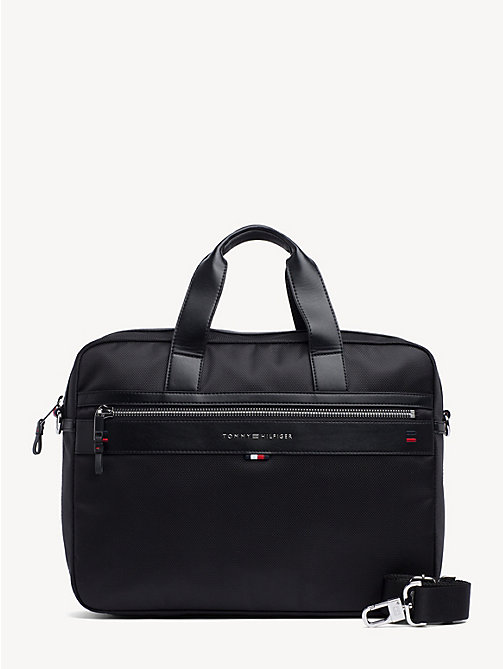 TOMMY HILFIGER Elevated laptoptas - BLACK - TOMMY HILFIGER Aktetassen - main image