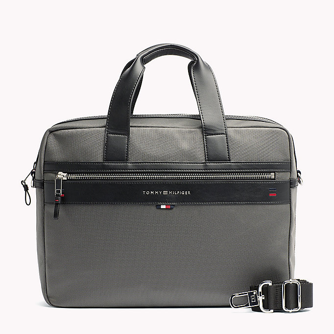 TOMMY HILFIGER Lightweight Laptop Bag - TOMMY NAVY - TOMMY HILFIGER Men - main image
