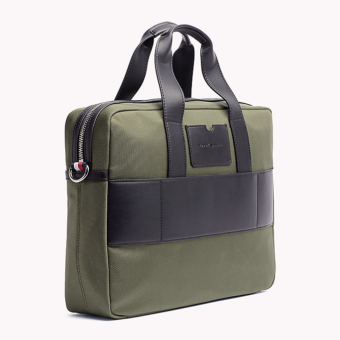 TOMMY HILFIGER Lightweight Laptop Bag - GREY - TOMMY HILFIGER Men - detail image 1