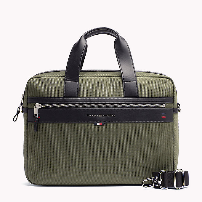 TOMMY HILFIGER Lightweight Laptop Bag - GREY - TOMMY HILFIGER Men - main image