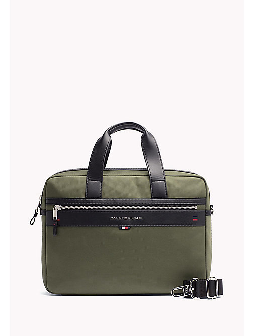 TOMMY HILFIGER Lightweight Laptop Bag - FOUR LEAF CLOVER - TOMMY HILFIGER Laptop Bags - main image